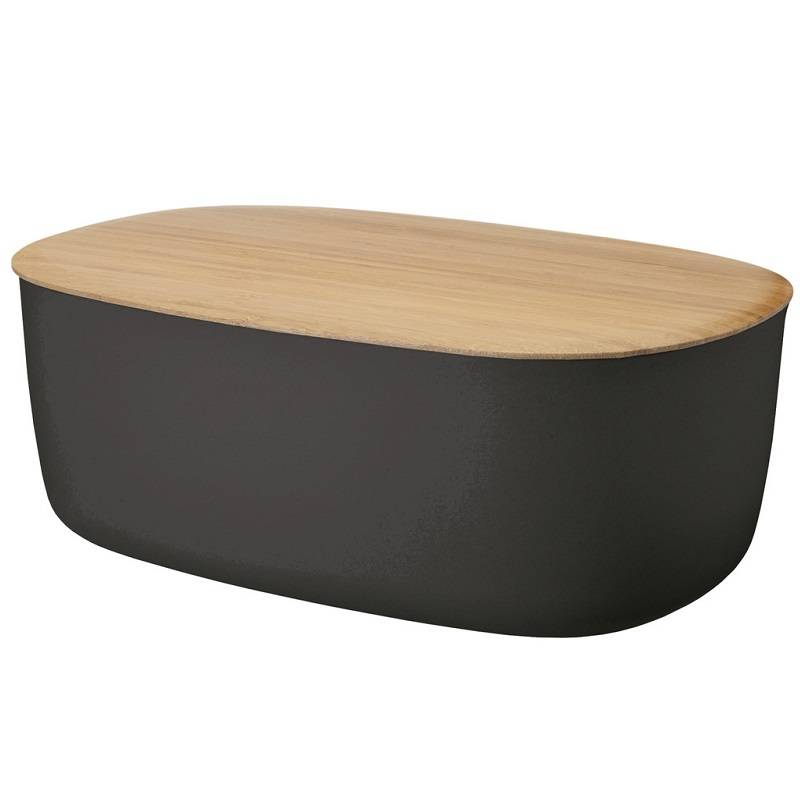 stelton rig tig bread box black at make designed objects. Black Bedroom Furniture Sets. Home Design Ideas